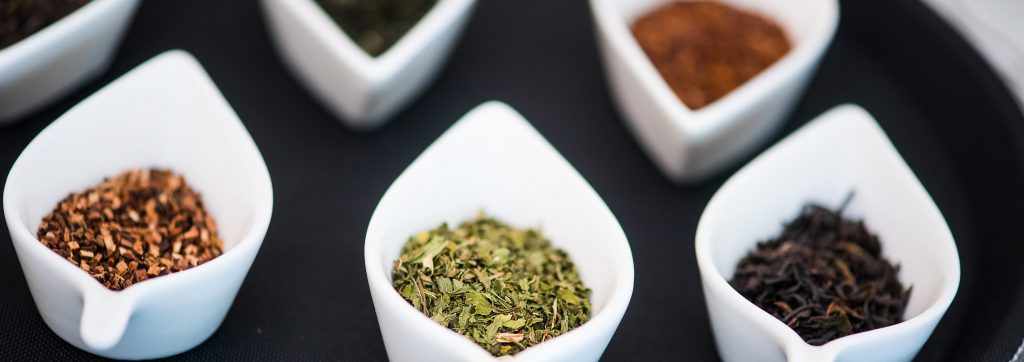 Sip offers a variety of black, green and herbal teas